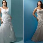 Modelos de Vestidos de Noiva Plus Size 2012