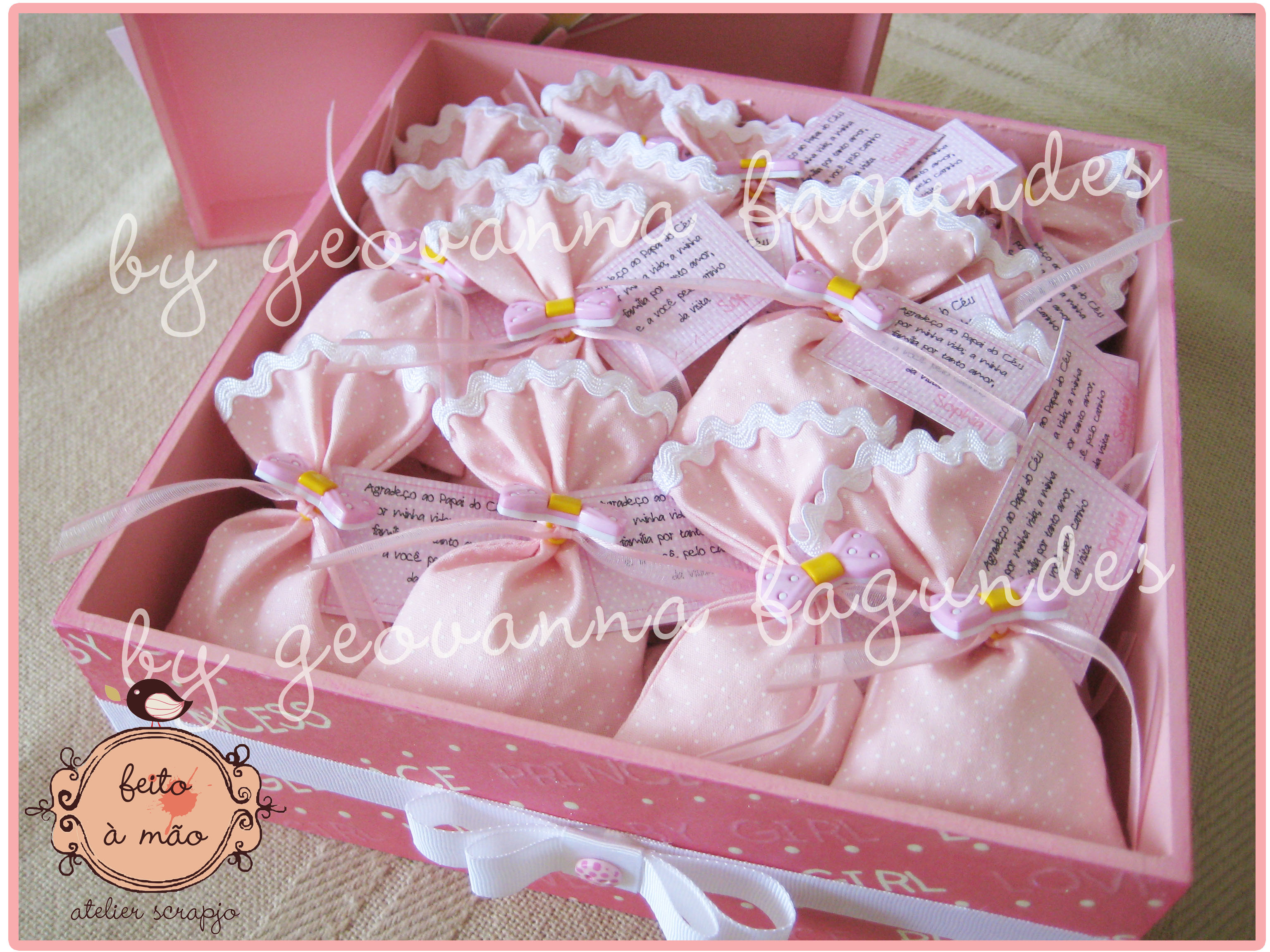 modelos-Lembrancinhas de Nascimento para Meninas