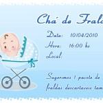 Convites Para Cha de Bebe