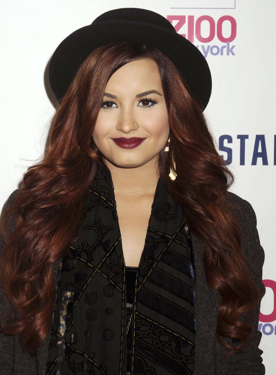Demi Lovato no Brasil Shows 2012