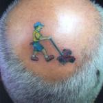 Tatuagem na Cabeça