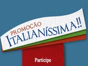 Promoção Italianíssima