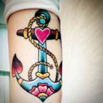 Tatuagens de Âncora