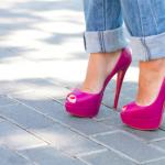 Sapatos Cor de Rosa
