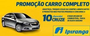Promoção Ipiranga Carro Completo