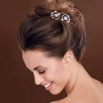 Penteados de noivas com coque