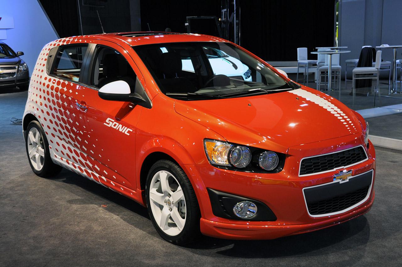 Novo Chevrolet Sonic 2012
