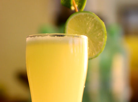 Receita de Limonada Suíça