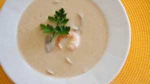 Receita de Sopa de Cogumelos