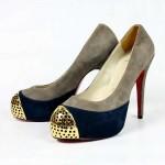 Sapatos Cap Toe