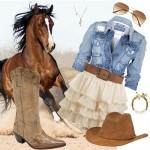 Moda Country Feminina 2012