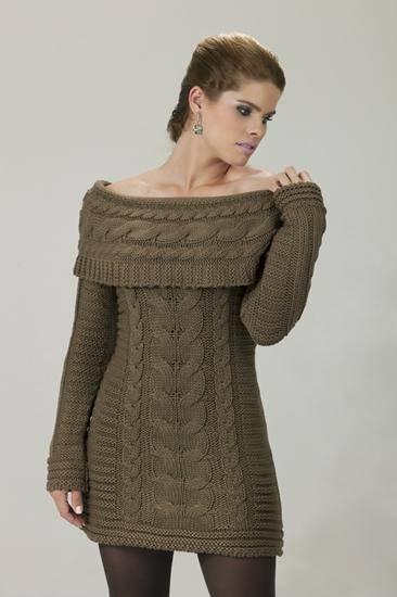 vestidos inverno 2012