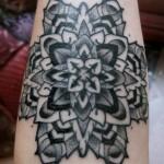 Tatuagem de mandala