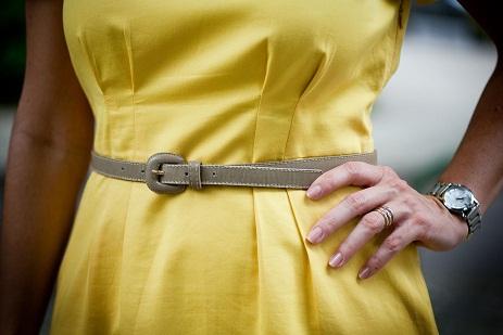 Como Usar Vestido com Cinto