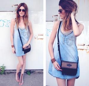Jeans Claro Tendência da Moda 2013