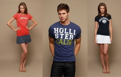 Camisetas Hollister 2013