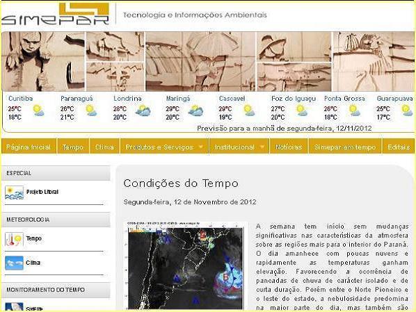 Site SIMEPAR