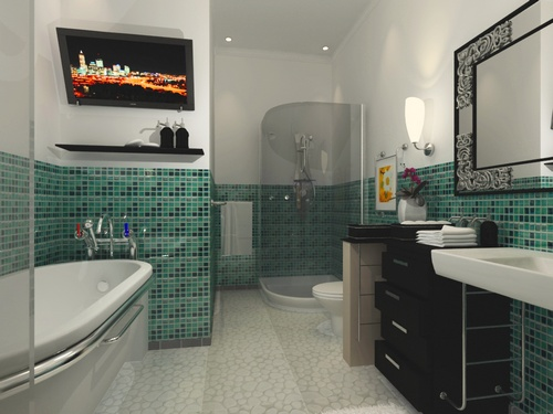 Fotos de Banheiros de Luxo Decorados