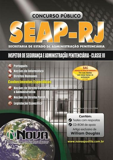 Concurso SEAP RJ 2013