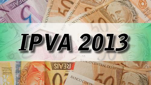 IPVA 2013: Consulta