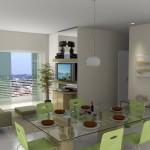 Decorar uma sala com 2 ambientes