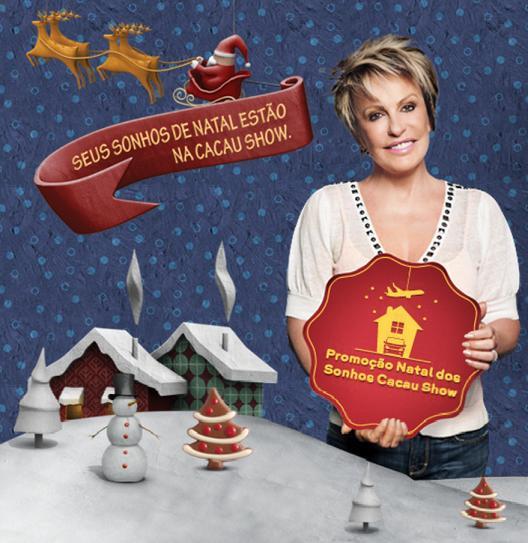 Promoção Natal dos Sonhos Cacau Show