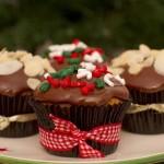 Receita de Cupcake de Natal, Saiba como Fazer
