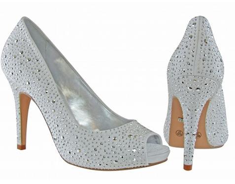 Sapatos com Strass Tendências 2013