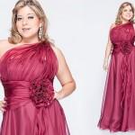 Vestidos de Festa Plus Size Moda 2013