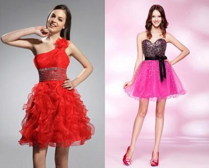 Vestidos de Formatura Curtos Moda 2013