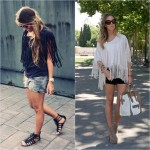 Blusas com Franjas Moda 2013, Dicas e Fotos