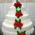 Bolos de Casamento Decorados com Pasta Americana: Dicas e Fotos