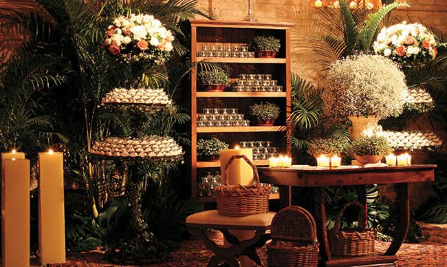 decoracao rustica para ambientes pequenos:Dicas de Decoração para Festa de Casamento Rústico