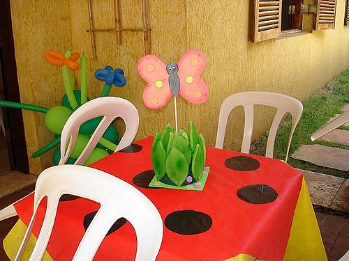 Enfeites de Mesa para Aniversário Infantil