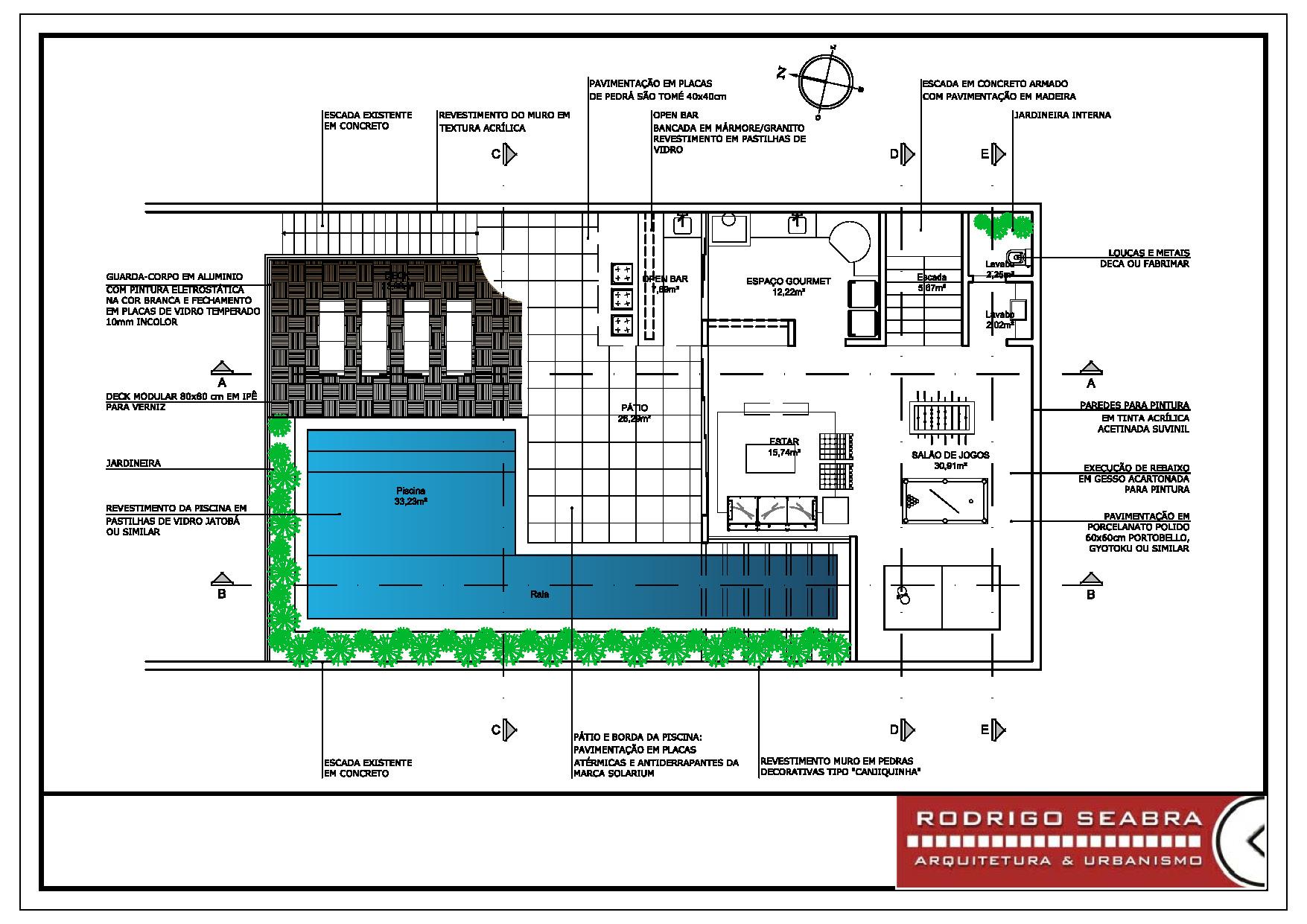 ver planta baixa do projeto informação e opinião planta baixa de  #10BB37 1755 1241