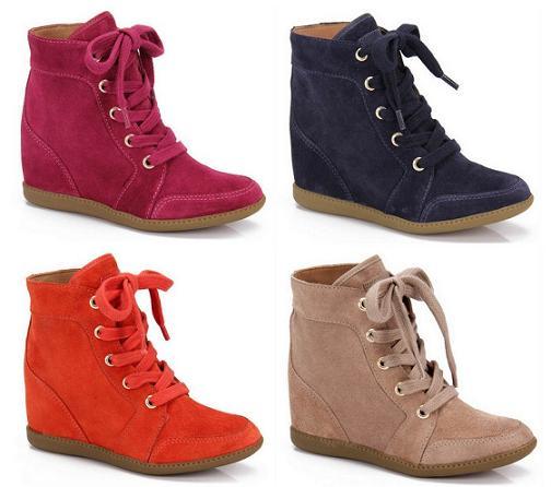 Sneakers Coloridos Femininos Moda 2013