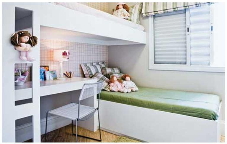 decoracao de apartamentos pequenos quartos:Dicas de Decoração para Quartos de Apartamentos Pequenos