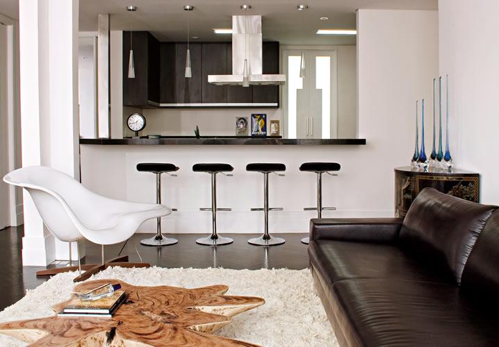 decoracao de sala dicas : decoracao de sala dicas:Decoração de Salas e Cozinhas Integradas, Fotos e Dicas