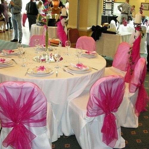 Decoração para Mesa de Convidados de Casamento