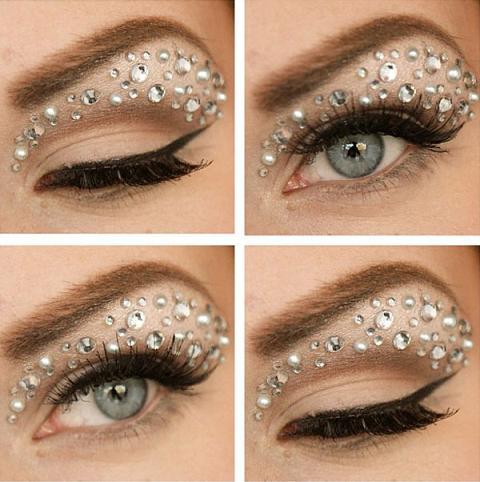 Maquiagem de Cristal