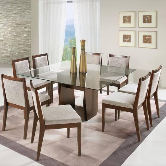 Mesas de Jantar de Vidro