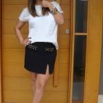 Mini Saia com Fenda Moda 2013, Dicas e Fotos