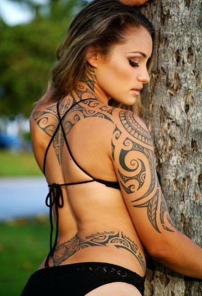 Tatuagens Femininas Maori