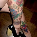 tatuagens-femininas-na-panturrilha-2