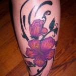 tatuagens-femininas-na-panturrilha-4