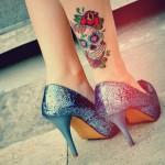 tatuagens-femininas-na-panturrilha-6
