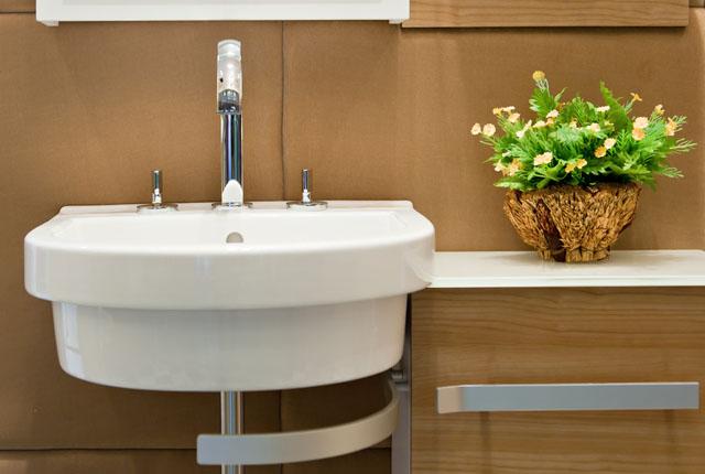 Banheiros Decorados com Plantas, Fotos e Dicas para Decorar -> Decoracao No Banheiro Com Plantas