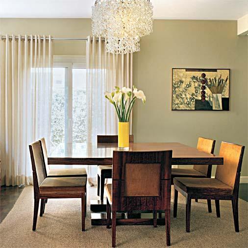Decora o com lustres na sala fotos e dicas for O que significa dining room em portugues