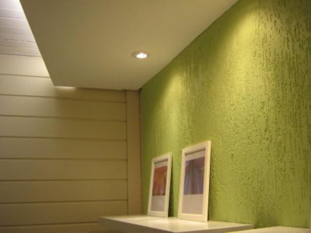 Pintura de parede com texturas modelos dicas for Pinturas para paredes