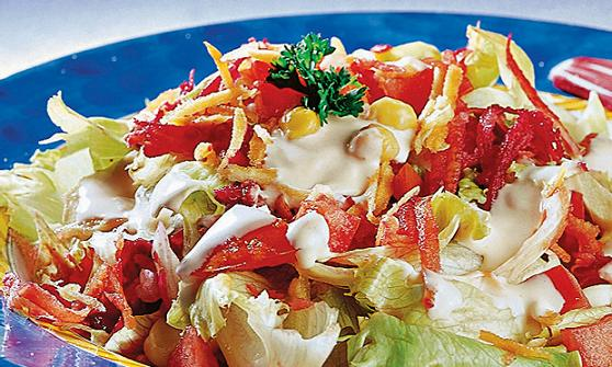 Receitas de Saladas Decoradas